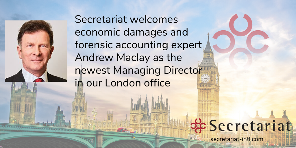 Secretariat Welcomes Managing Director Andrew Maclay in London