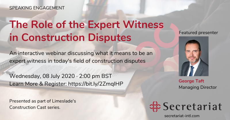 The Role of the Expert Witness in Constructions Disputes Discussion