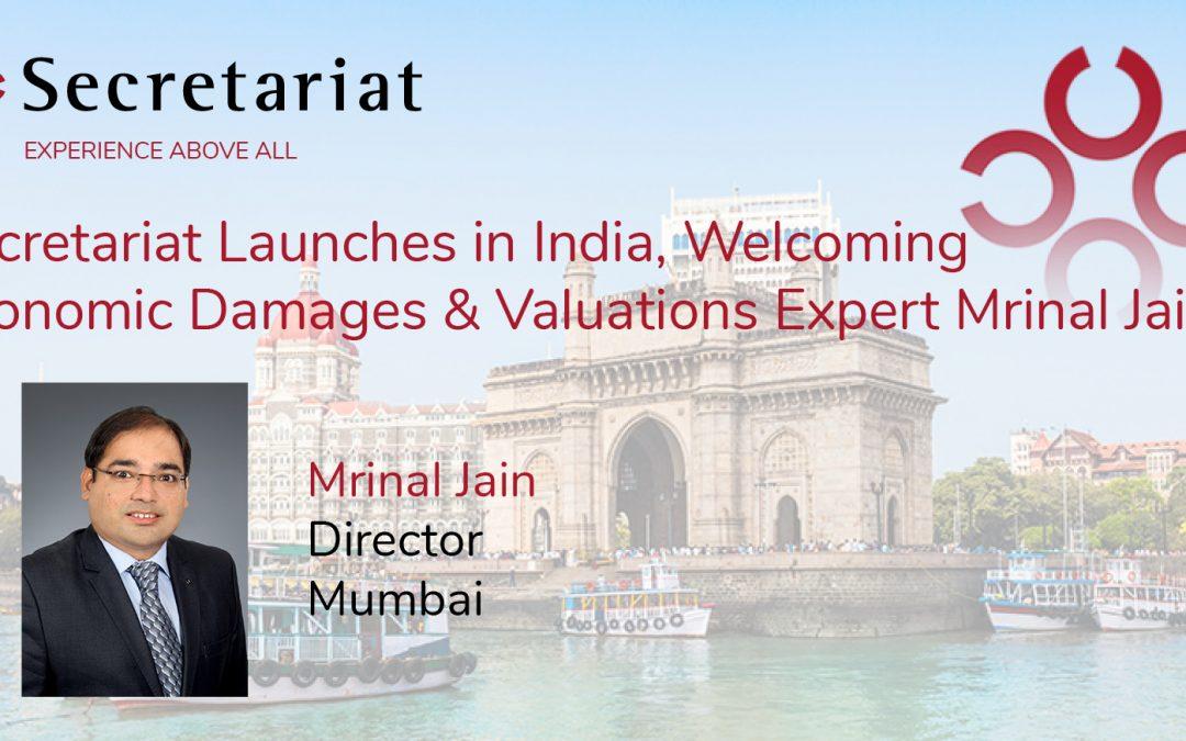 Secretariat Launches in India, Welcomes Mrinal Jain